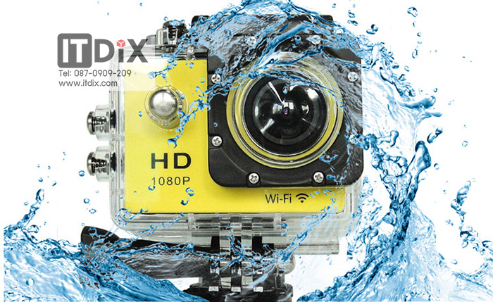 กล้อง Sport HD DV H.264 WiFi