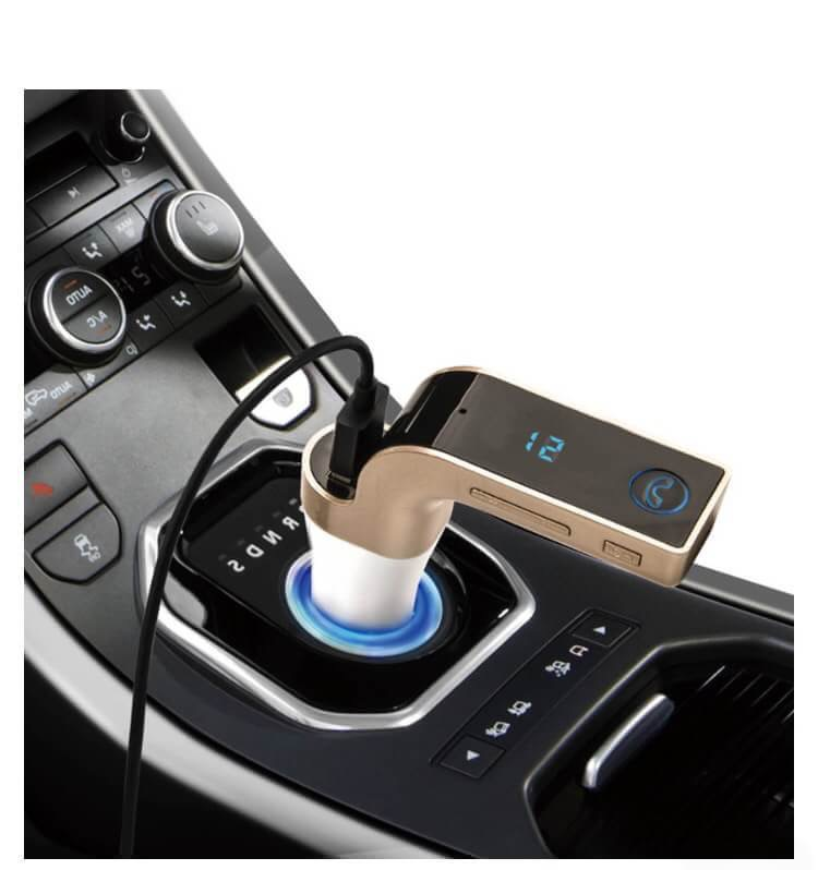 Bluetooth Car Kit Car G7 Fm Transmitter Mp3 Music Player Sd Usb Charger For Iphone Samsung Table Pc