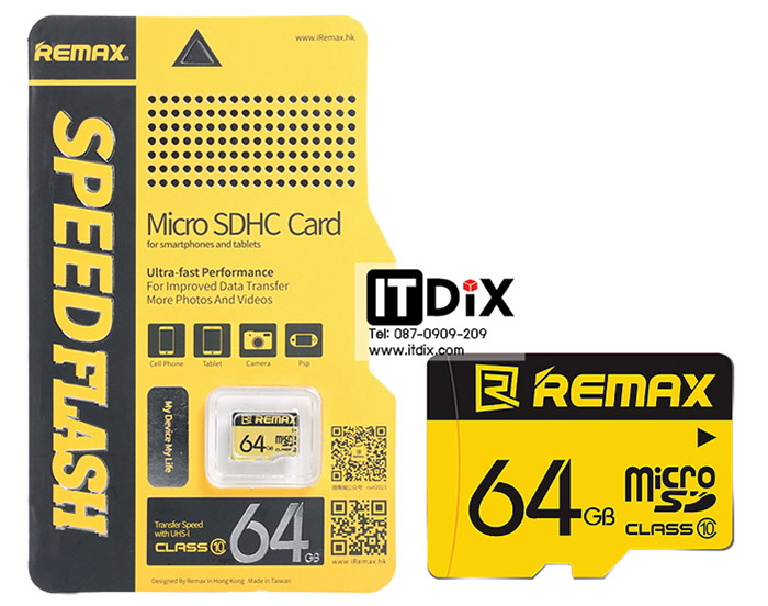 Micro SD Card Remax 64 GB