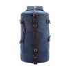 TR01 กระเป๋าทรงกระบอกใหญ่ แคนวาส สีน้ำเงิน
