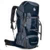 DF03 กระเป๋าเดินทาง สีกรมท่า ขนาดจุสัมภาระ 80+5 ลิตร