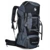 DF03 กระเป๋าเดินทาง สีดำ ขนาดจุสัมภาระ 80+5 ลิตร