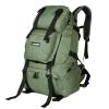 NL16 กระเป๋าเดินทาง สีเขียวทหาร ขนาดจุสัมภาระ 40 ลิตร