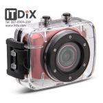 กล้อง Action Camcorder สีแดง