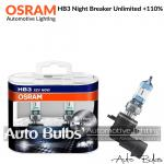 HB3 Osram Night Breaker Unlimited +110%