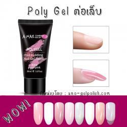 Polygel ต่อเล็บ A-Nail 30G. เนื้อข้น