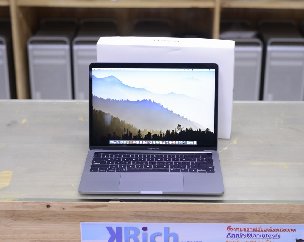 CTO MacBook Pro Retina 13-inch Late2016 TouchBar SpaceGrey Core i7 3.3GHz RAM 16GB SSD 512GB FullBox Apple Care Warranty 05-04-20