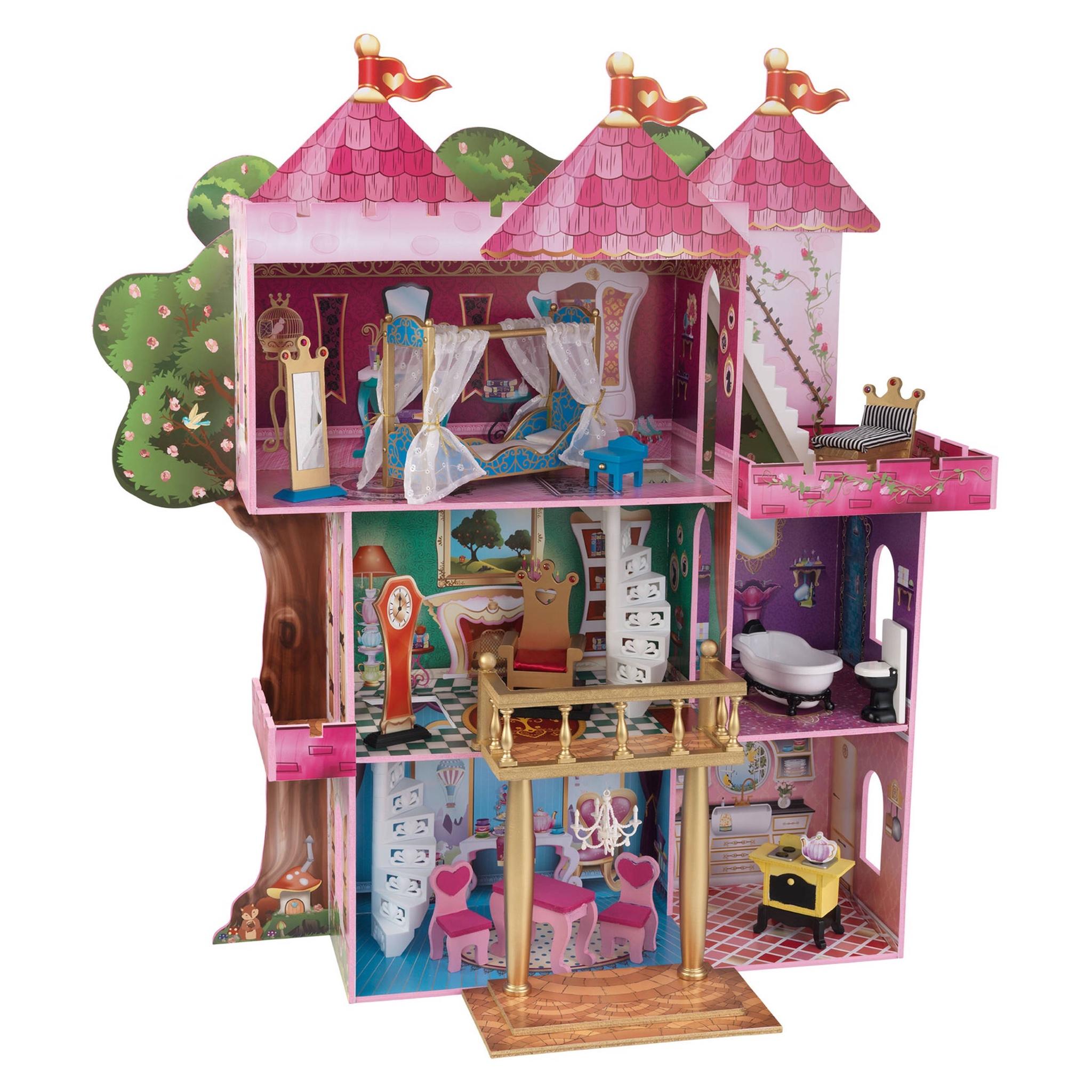 บ้านตุ๊กตาแสนหวาน KidKraft Storybook Wooden Mansion Dollhouse