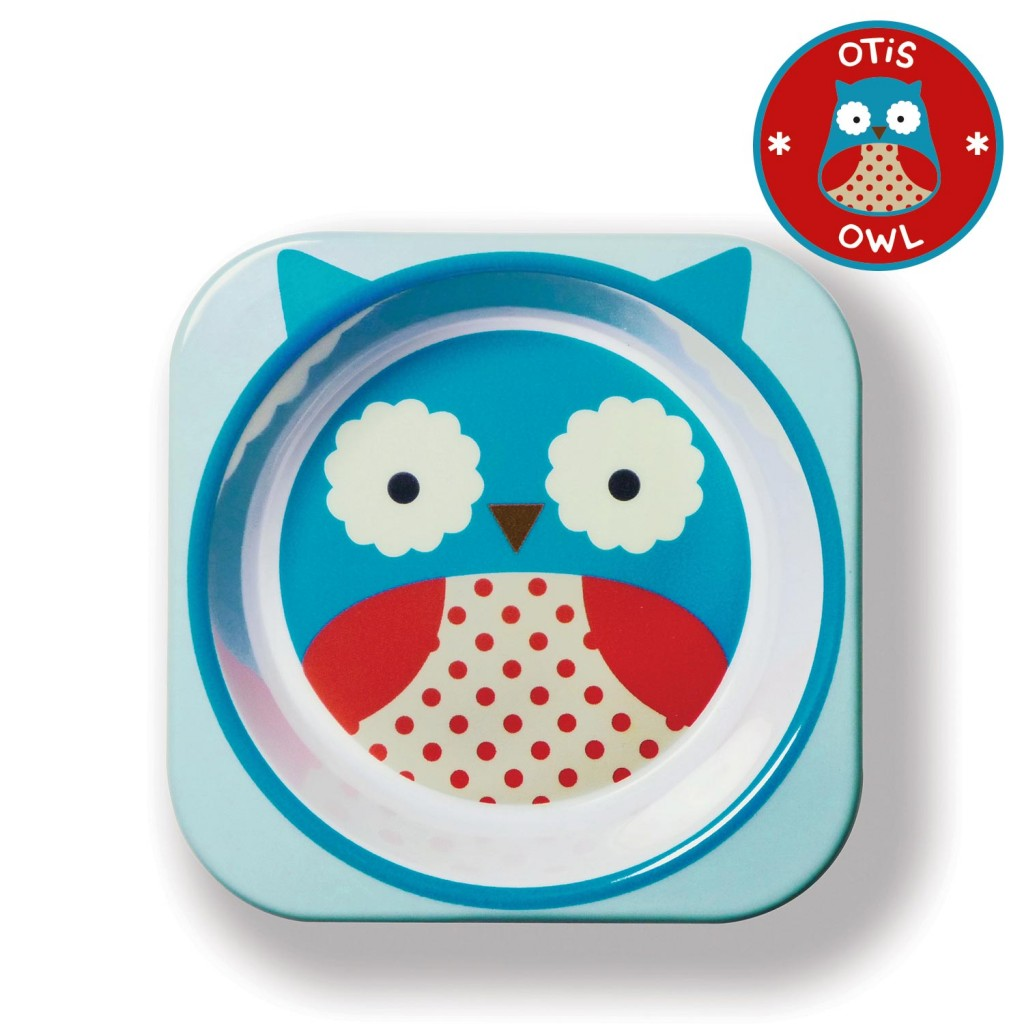 ชามอาหารสำหรับเด็ก Skip Hop รุ่น Zoo Bowls (Owl)
