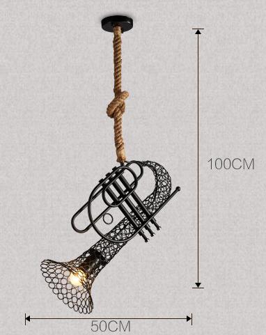 โคมไฟทรัมเป็น โคมไฟเครื่องดนตี ติดเพาน