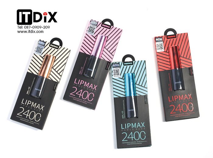 Lipmax remax Powerbank