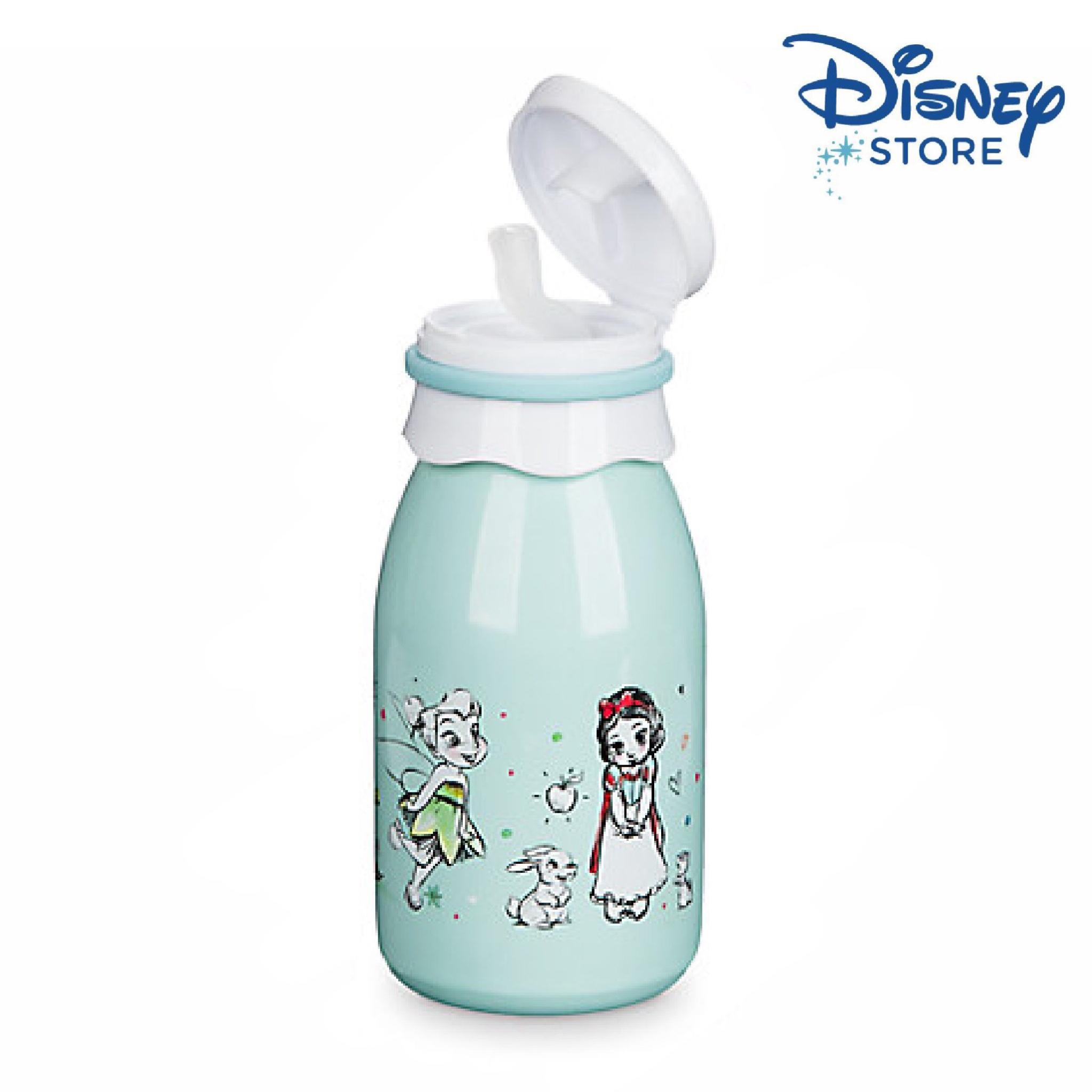 กระติกน้ำแสตนเลสแบบหลอดรุ่นสะสม Disney Stainless Steel Water Bottle with Straw (Disney Animators' Collection)