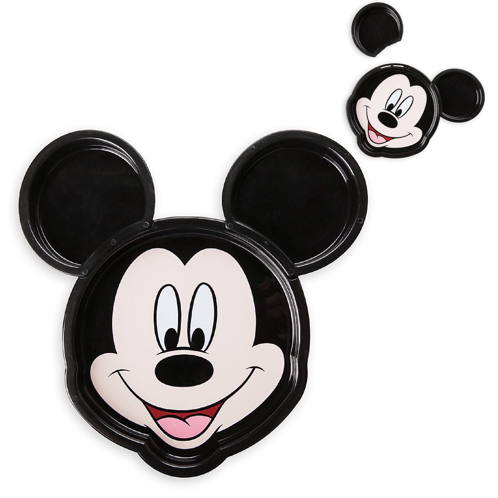 จานอาหารมิกกี้เม้าส์ Disney Meal Time Magic Collection (Mickey Mouse)