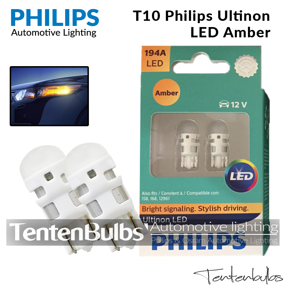 T10 Philips Ultinon Amber LED