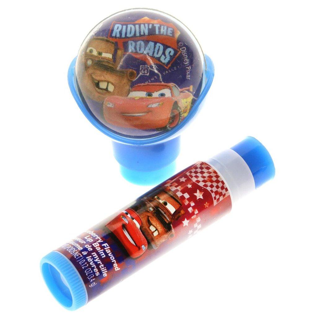 ลิปบาล์มปลอดสารพิษพร้อมลูกบอลเด้งดึ๋ง Townleygirl Lip Balm with Bouncy Ball (Cars)
