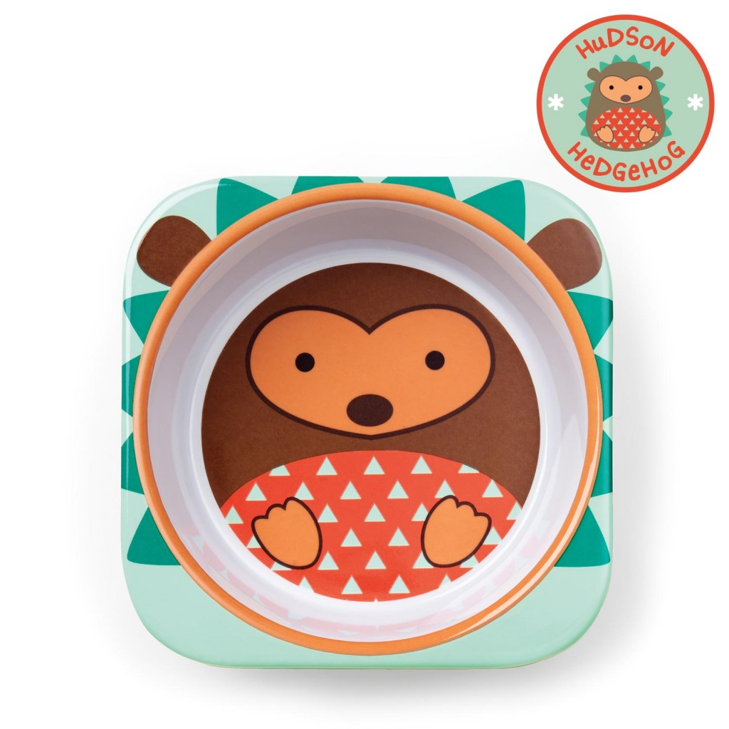 ชามอาหารสำหรับเด็ก Skip Hop รุ่น Zoo Bowls (Hedgehog)