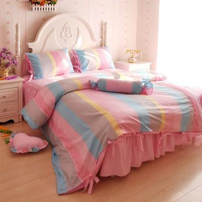 ชุดผ้าปูที่นอนเจ้าหญิง ลูกไม้ SD3009-4P