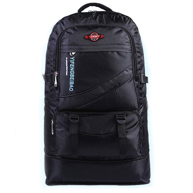 NL18 กระเป๋าเดินทาง สีดำ ขนาดจุสัมภาระ 60 ลิตร