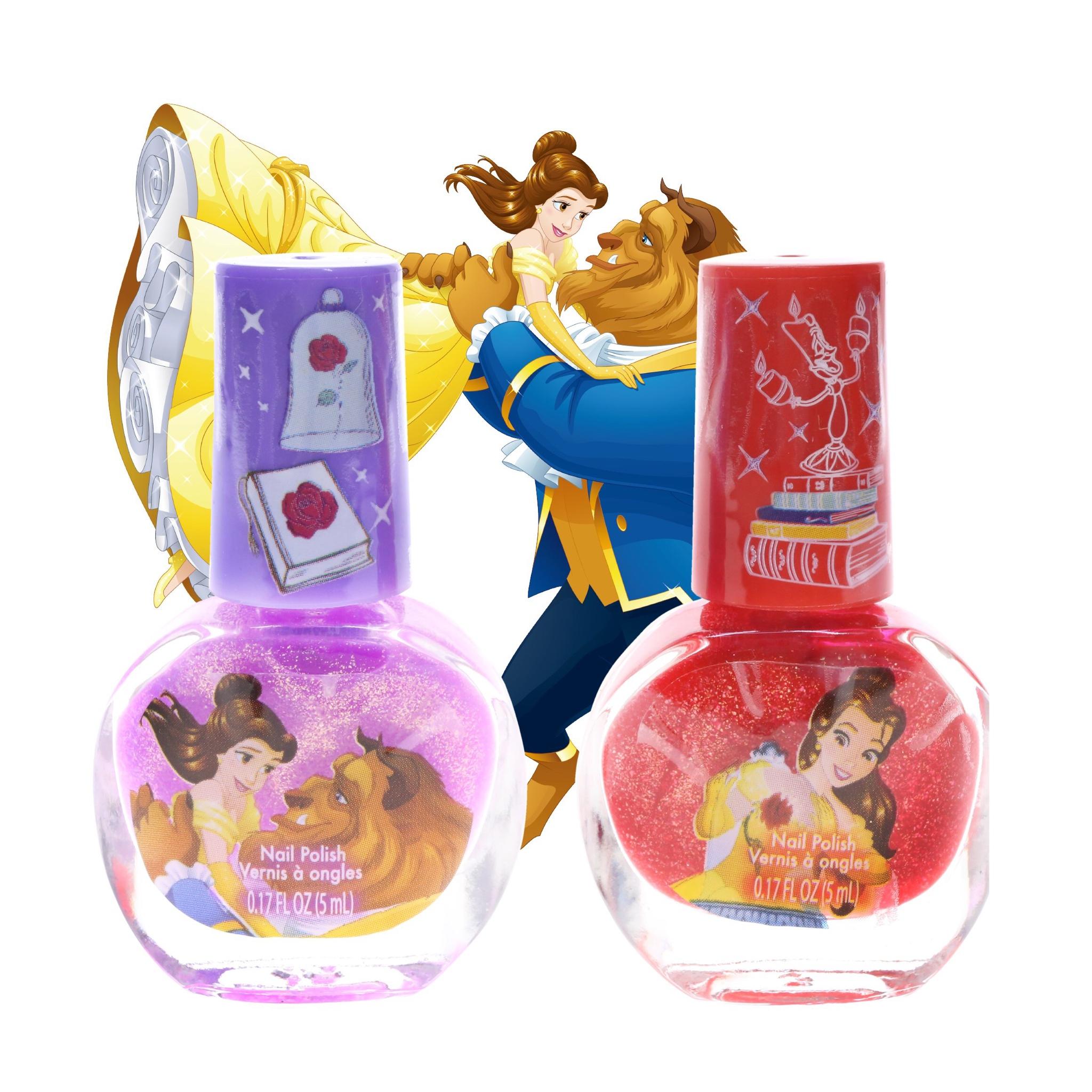 ชุดยาทาเล็บปลอดสารพิษสำหรับเด็ก Townleygirl 2-Pack Nail Polish Set (Beauty & the Beast)