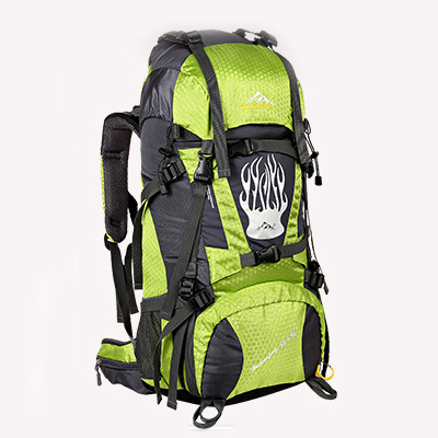 NL13 กระเป๋าเดินทาง สีเขียว ขนาด 55+5 ลิตร (เสริมโครง)
