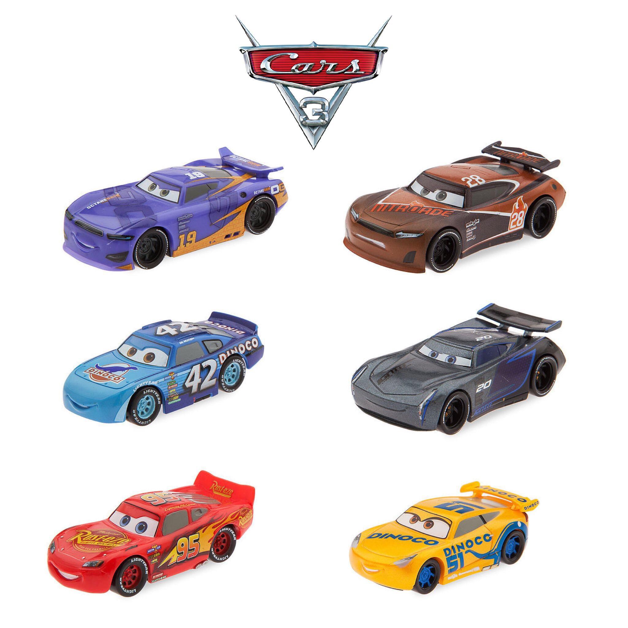 ชุดโมเดลของเล่นสำหรับเด็ก Disney Cars 3 Figurine Playset