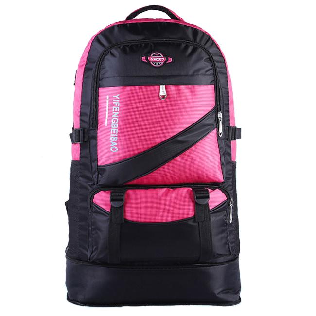 NL18 กระเป๋าเดินทาง สีชมพู ขนาดจุสัมภาระ 60 ลิตร