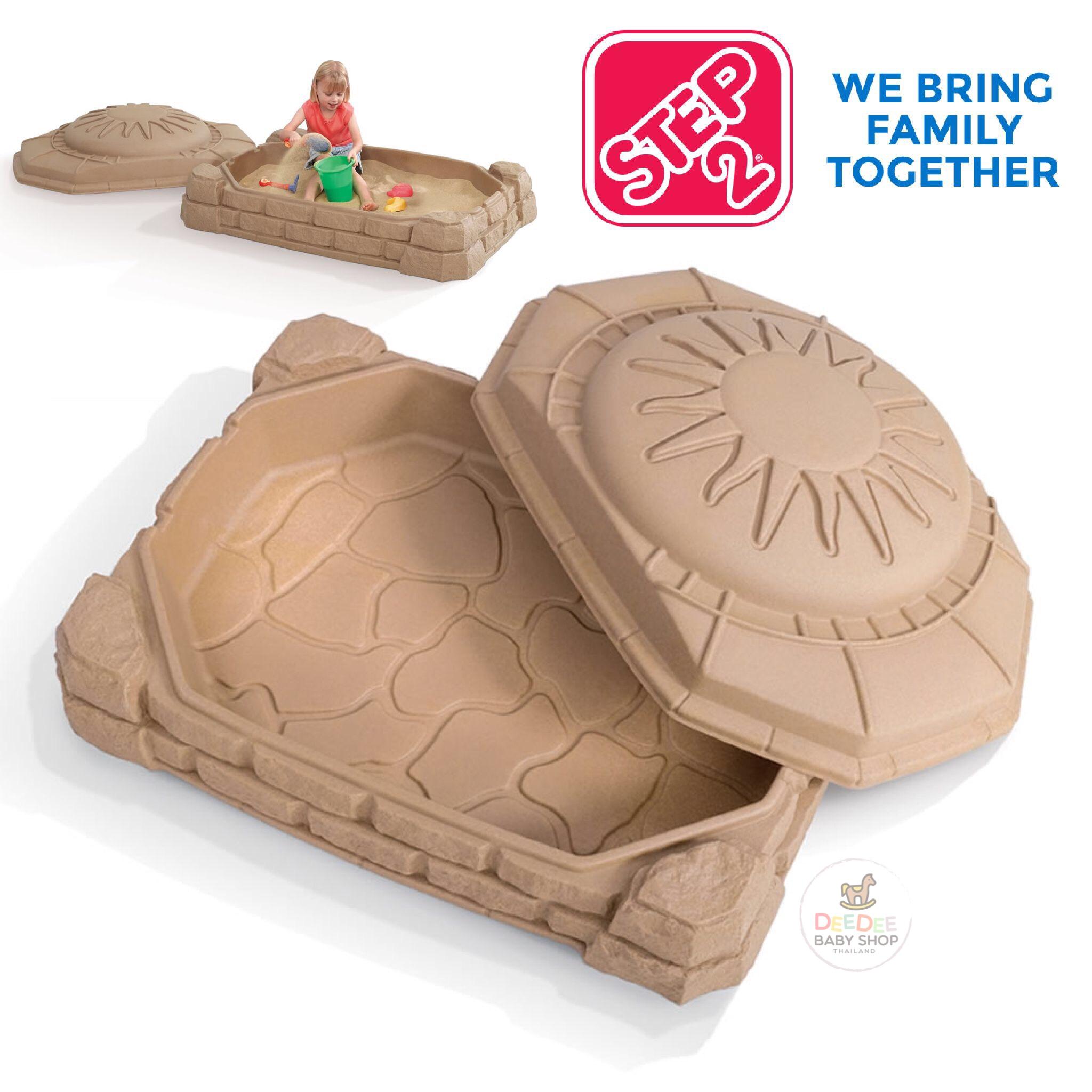 กล่องเก็บทรายพร้อมฝาปิด Step2 Naturally Playful Sandbox