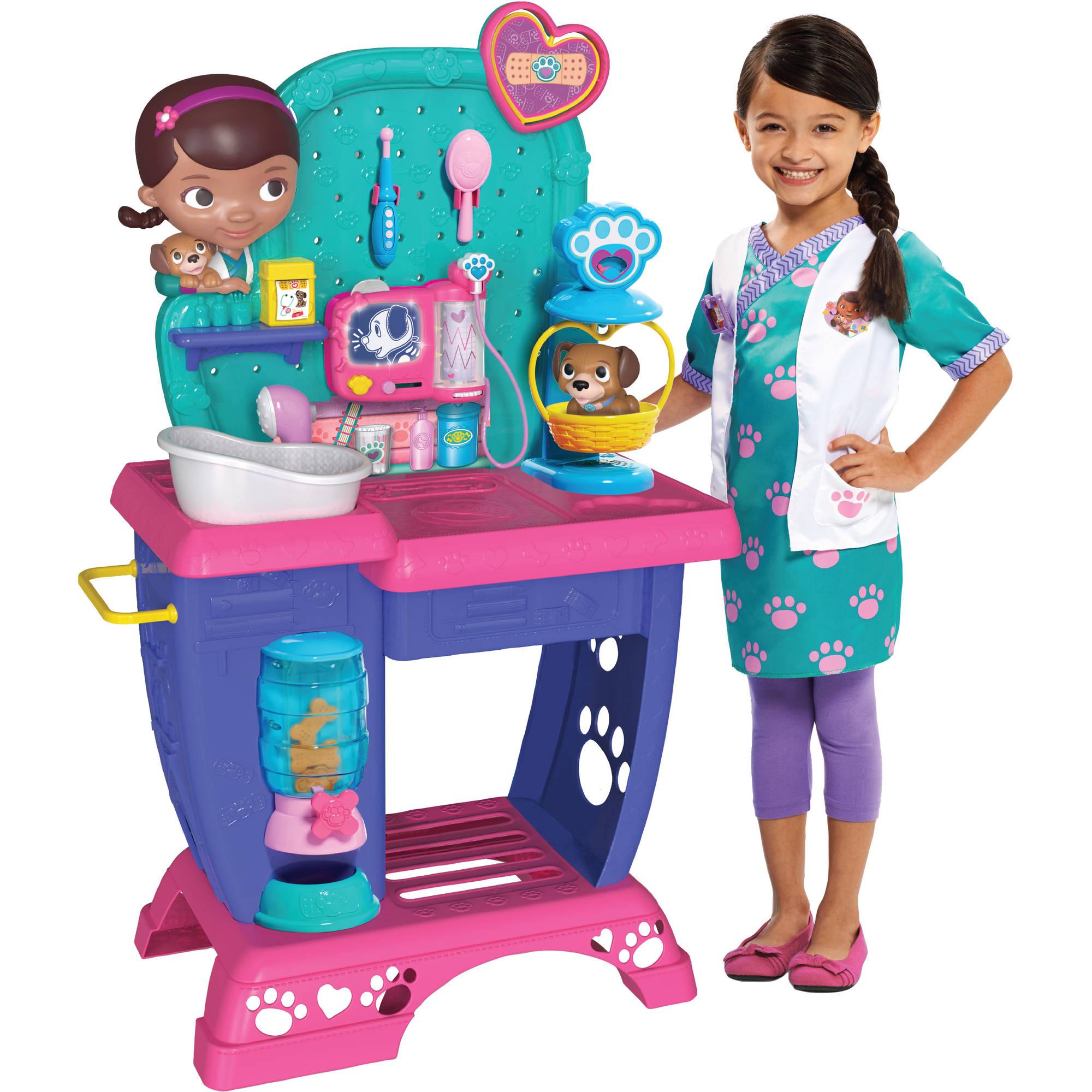 ชุดจำลองคลินิคคุณหมอสุดน่ารัก Just Play Disney Junior Doc McStuffins Pet Vet Checkup Center
