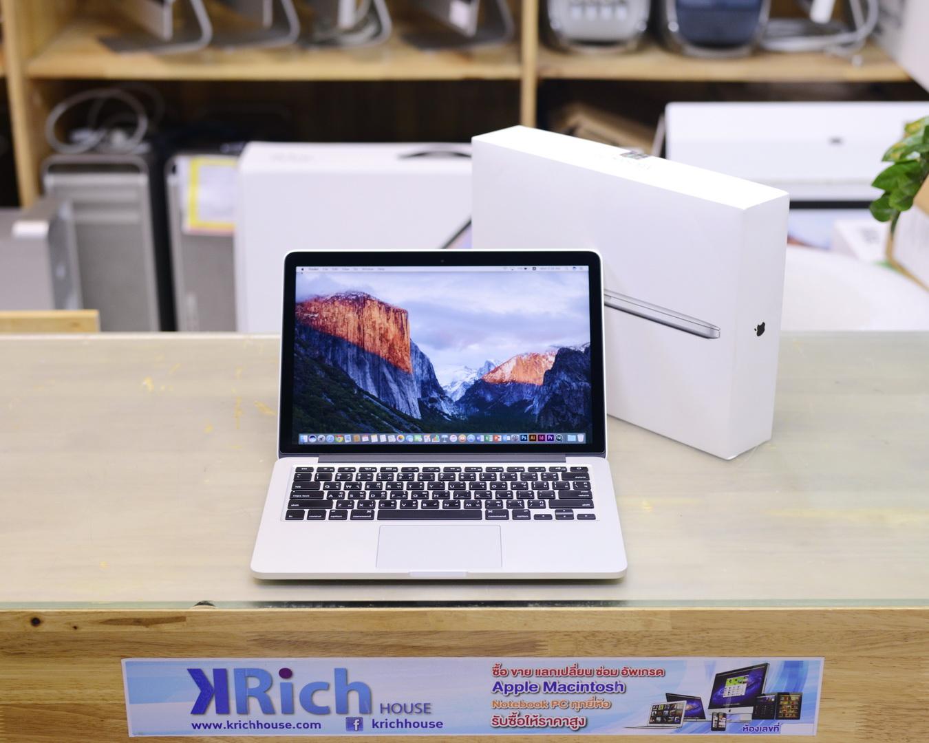 MacBook Pro (Retina 13-inch Early 2015) Core i5 2.7GHz RAM 8GB SSD 256GB - FullBox