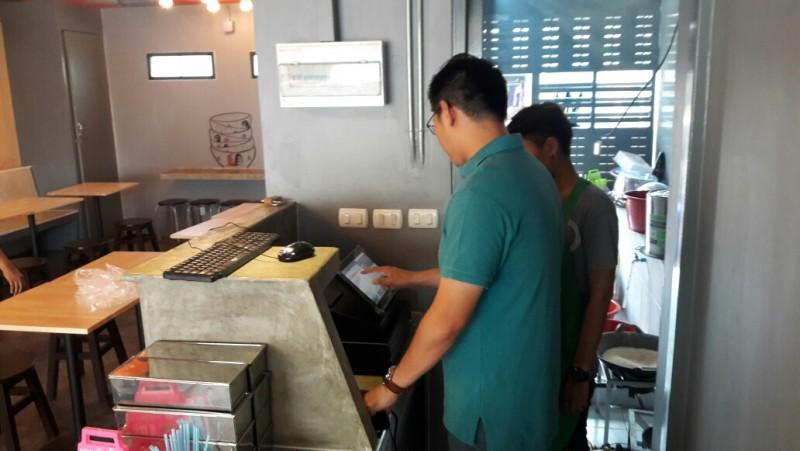 ติดตั้งระบบ POS รองรับเครื่องพิมพ์บาร์โค้ดที่สมุทรปราการ