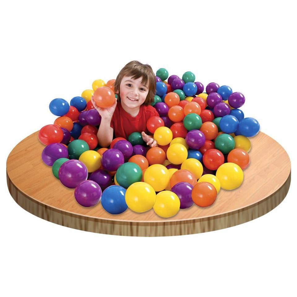 ลูกบอลปลอดสารพิษ Intex 100 Fun Ballz (6CM)