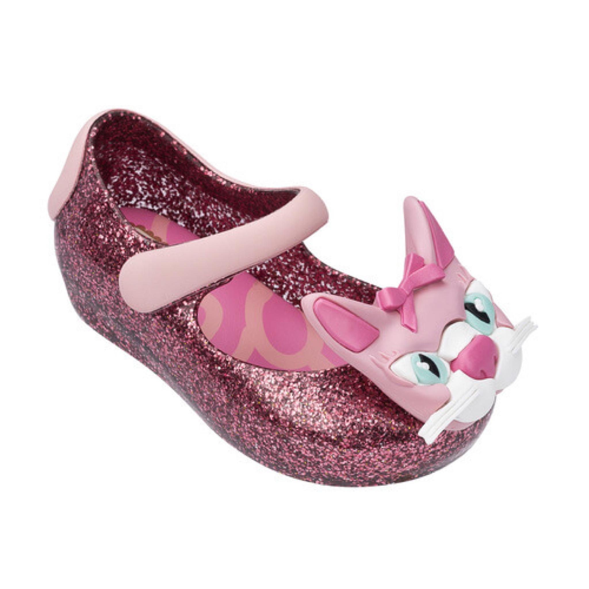 รองเท้าแมวน้อยรุ่นใหม่สำหรับลูกสาว Mini Melissa รุ่น Ultragirl Cat VII (Pink Glitter)