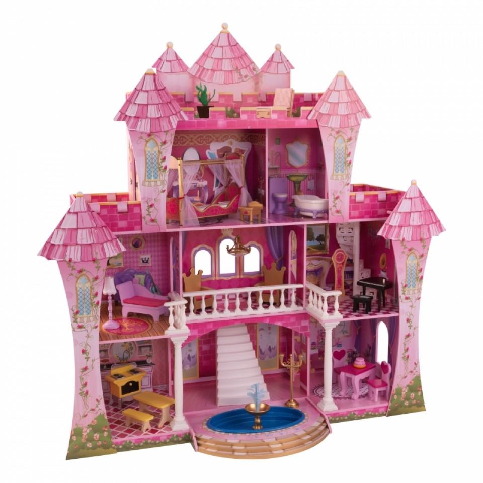 ปราสาทตุ๊กตาหลังยักษ์สุดอลังการ KidKraft Far Far Away Dollhouse