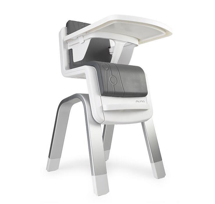 เก้าอี้รับประทานอาหารทรงสูงสุดหรู Nuna ZAAZ High Chair (Carbon)
