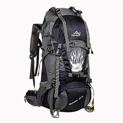 NL13 กระเป๋าเดินทาง สีกรมท่า ขนาด 55+5 ลิตร (เสริมโครง)