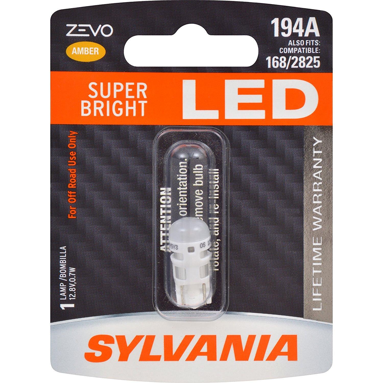 T10 SYLVANIA ZEVO LED Amber ส่งฟรี EMS