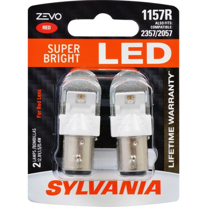 P21/5W Sylvania ZEVO Super Bright LED RED ส่งฟรี EMS