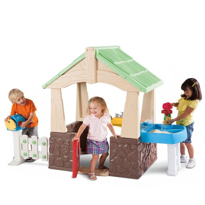 บ้านและสวนจำลองแสนสนุก Little Tikes Deluxe Home and Garden Playhouse