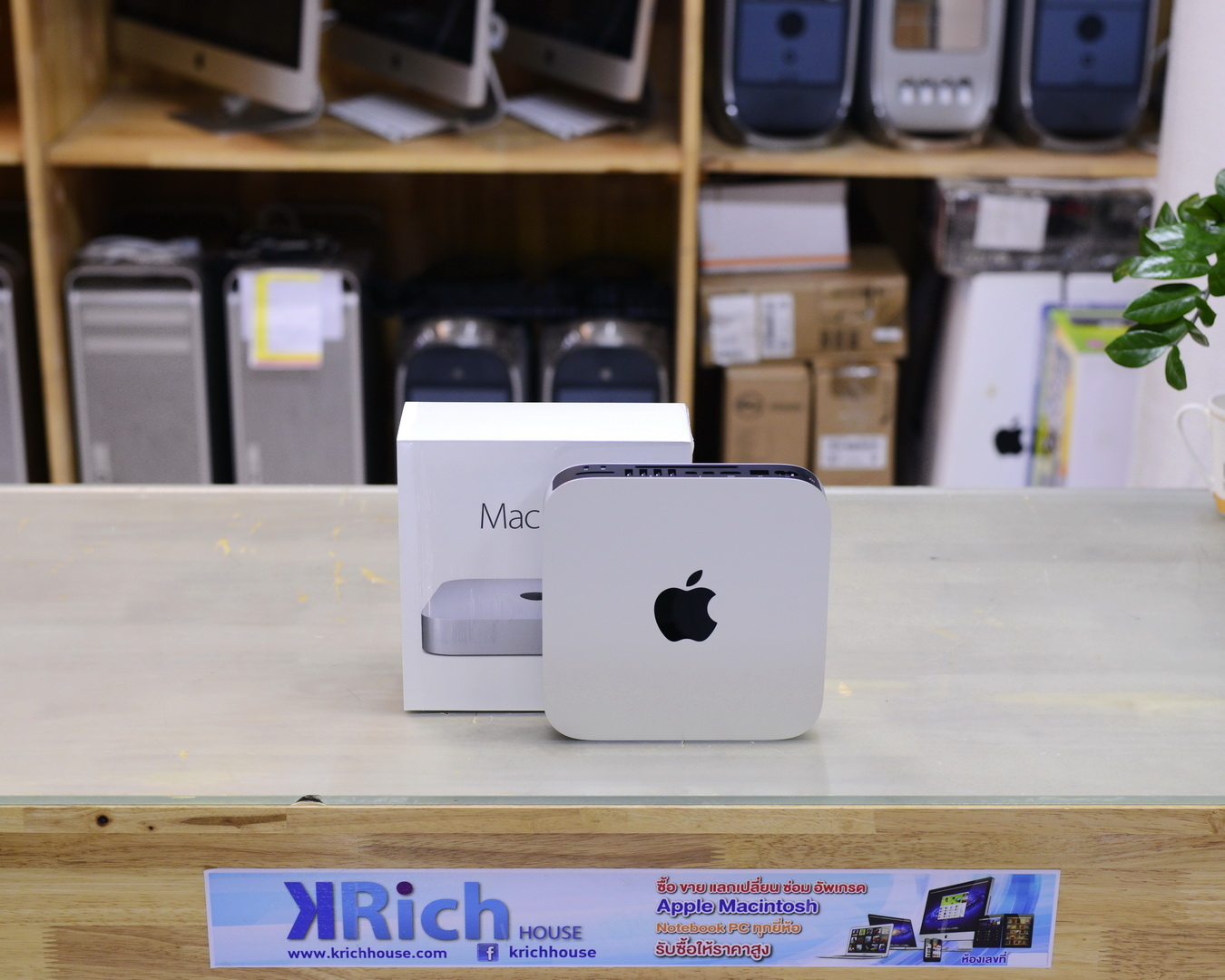 CTO - Mac Mini (Late 2014) Core i7 3.0GHz RAM 16GB SSD 128GB + HDD 2TB Fusion Drive FullBox - Apple Warranty 11/12/2017