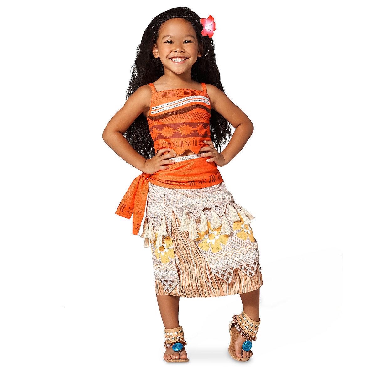 ชุดคอสตูมสำหรับเด็ก Disney Costume for Kids (Moana)
