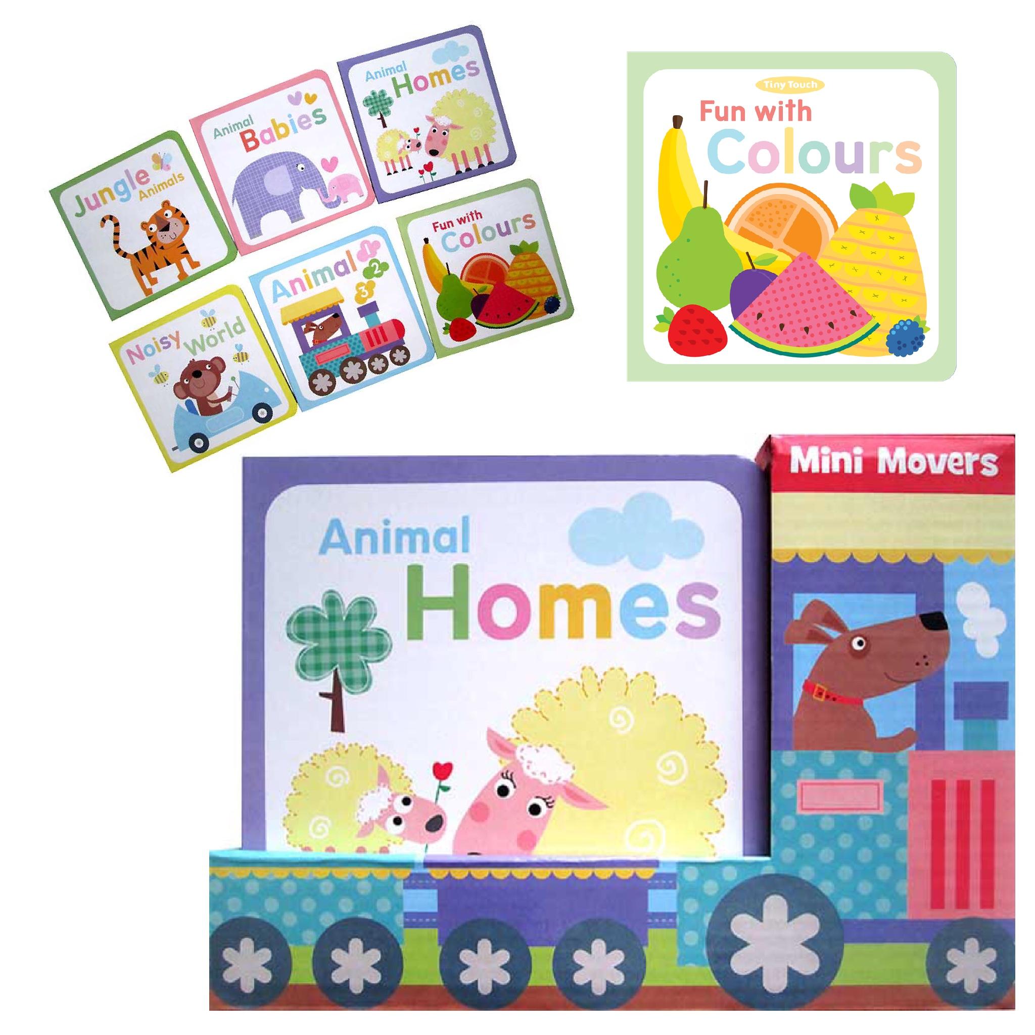 ชุดหนังสือสุดน่ารักสำหรับเด็กเล็ก Mini Movers Board Book Set