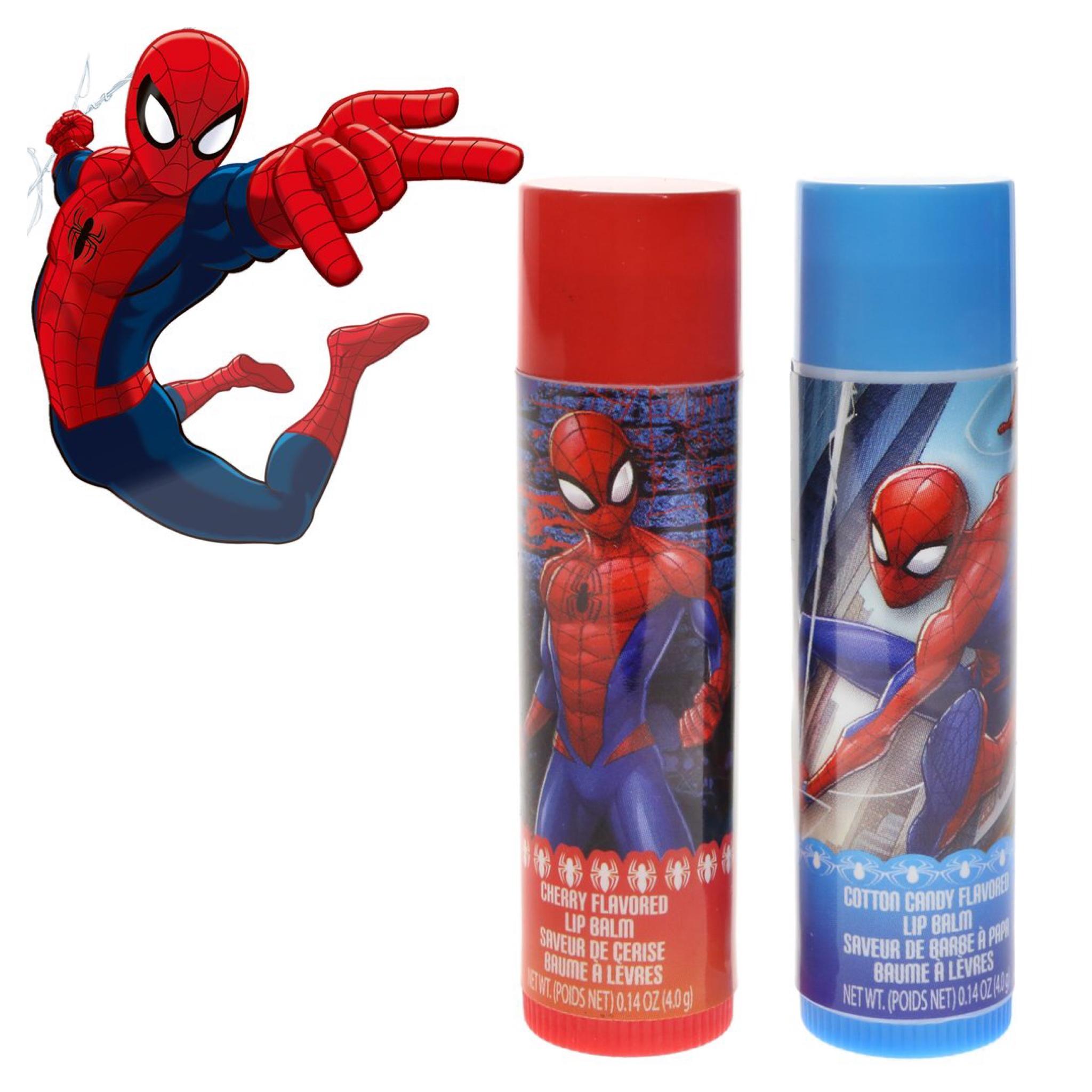 ลิปบาล์มปลอดสารพิษ Townleygirl 2-Pack Lip Balm (Spider Man)