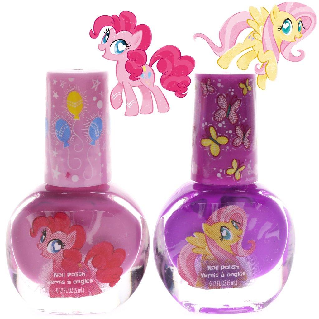 ชุดยาทาเล็บปลอดสารพิษสำหรับเด็ก Townleygirl 2-Pack Nail Polish Set (My Little Pony)