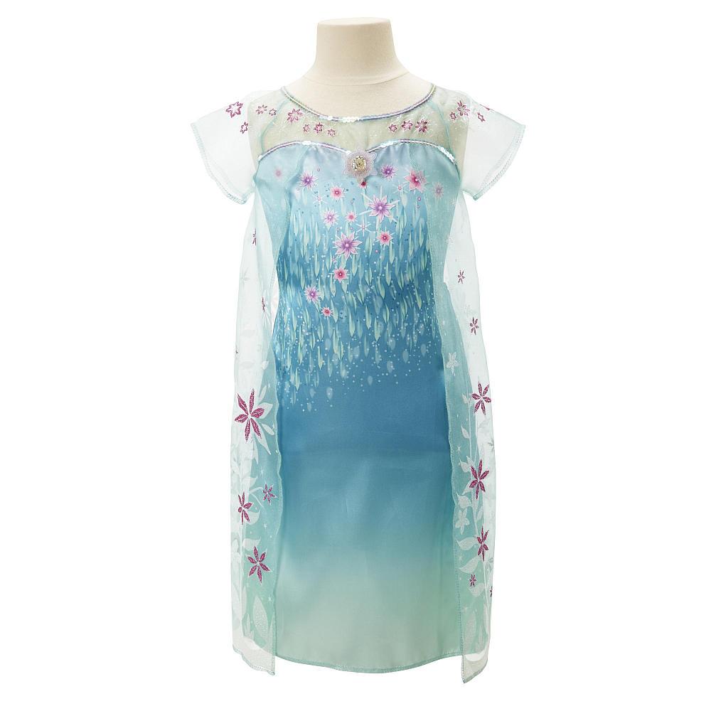 ชุดคอสตูมเจ้าหญิงเอลซ่าแสนสวย Disney Frozen Elsa Summer Dress