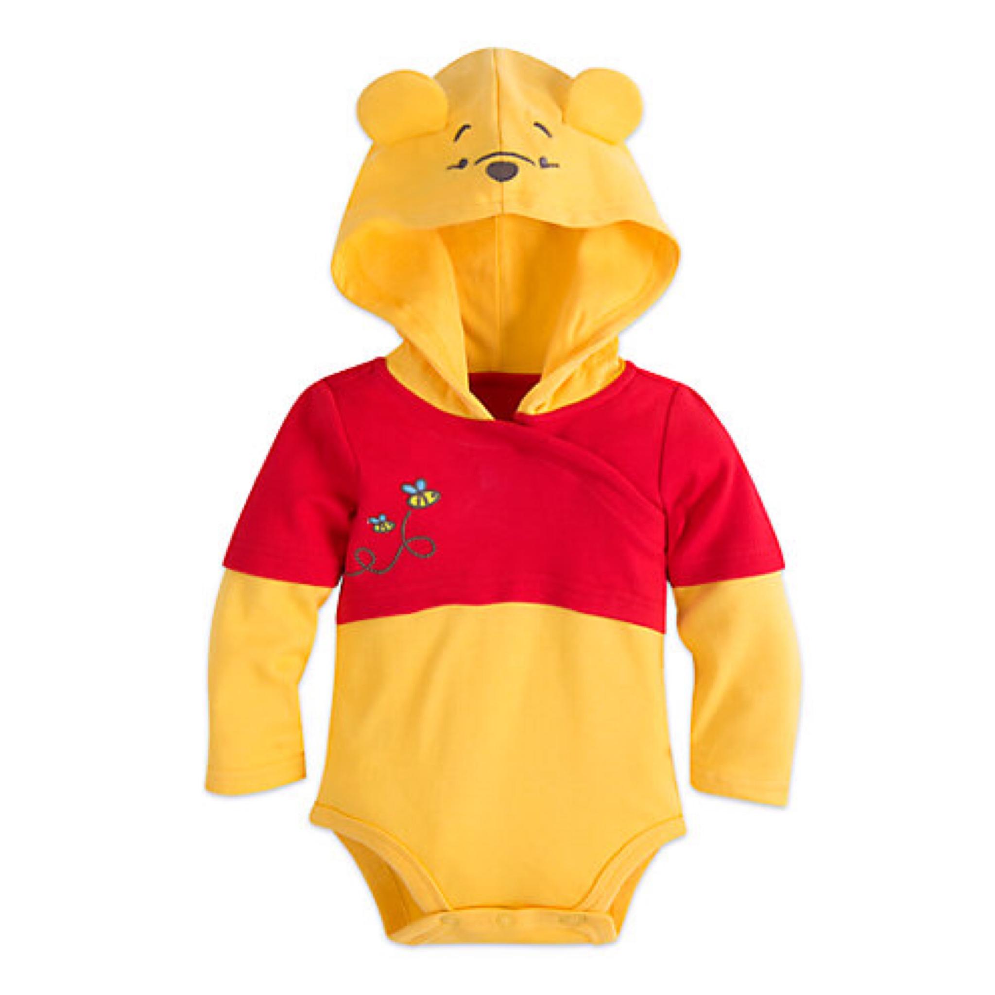ชุดคอสตูมบอดี้สูทเบบี๋สุดน่ารัก Disney Baby Costume Body Suit (Winnie the Pooh)