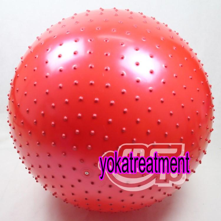 YK1025 บอลโยคะ แบบหนาม ขนาด 115CM