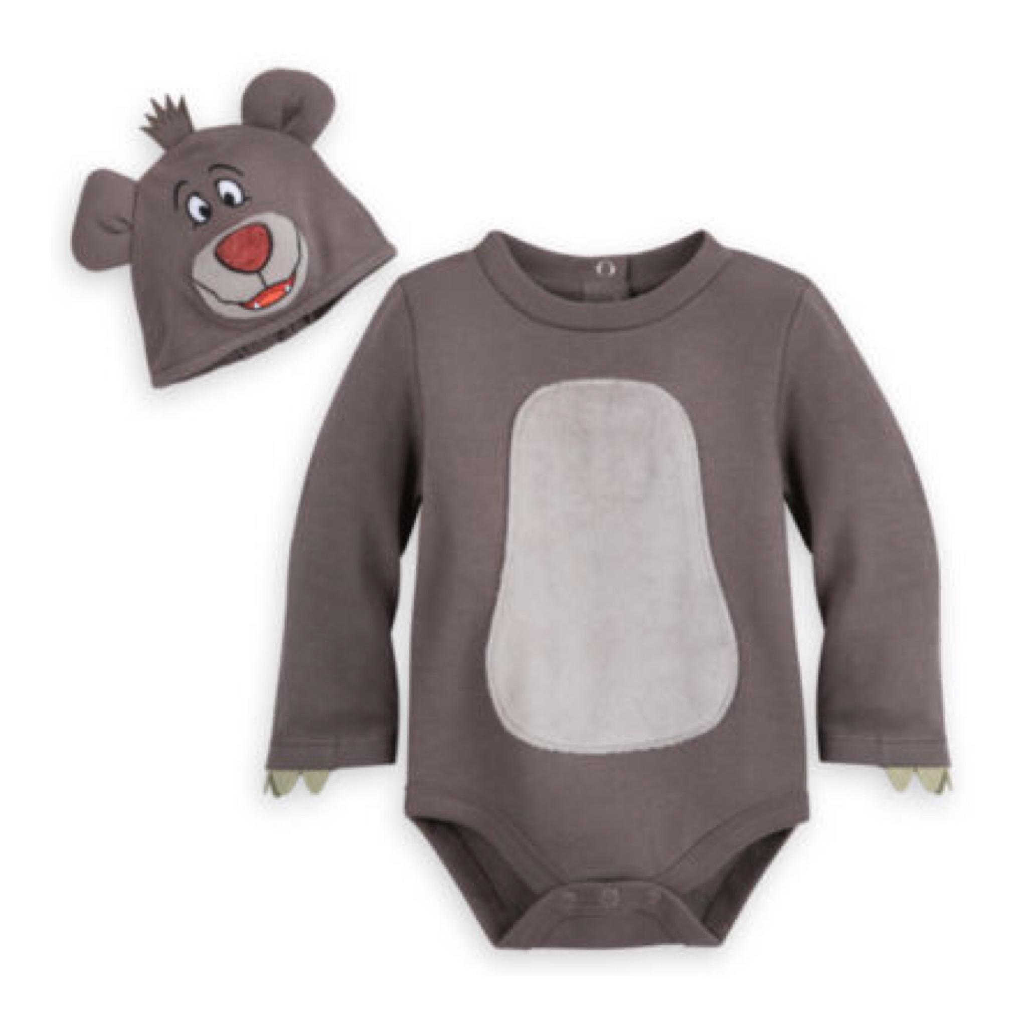 ชุดคอสตูมบอดี้สูทเบบี๋สุดน่ารัก Disney Baby Costume Body Suit (Baloo)