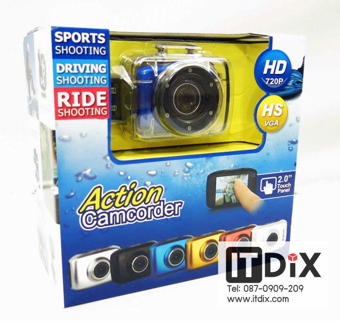 กล้อง Action Camcorder HD 720p
