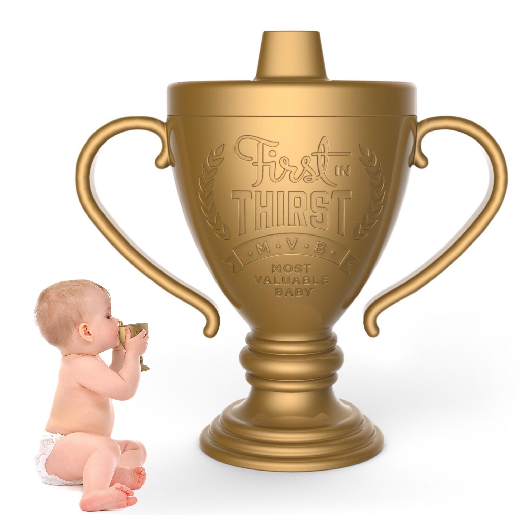 แก้วหัดดื่มสุดฮา Fred LIL' WINNER Trophy Sippy Cup
