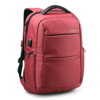 NB05 กระเป๋าทำงาน กระเป๋าโน๊ตบุ๊ค สีแดง ขนาด 28.5 ลิตร
